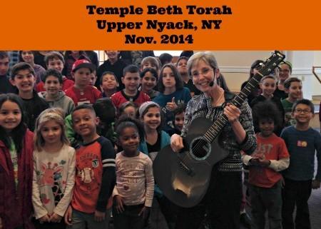 Temple Beth Torah Kids Choir 2